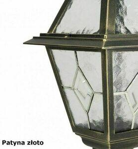 Kleine Gartenlaterne mit Glasmalerei (80 cm) - K 5002/3 N small 5