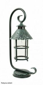 Lampa ogrodowa na stojaczku (54 cm) - Toledo K 4011/1 / R small 0