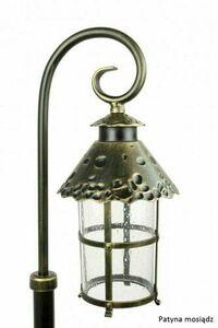 Mini stehende Gartenlaterne (86cm) - Toledo K 5002/3 / R small 4