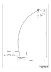 Stehlampe RL RECIFE R46041032 small 1