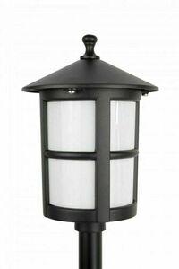 Gartenlampe auf niedrigem Pfosten mit Glasmalerei (71 cm) - Cordoba II K 5002/3 / TD small 1