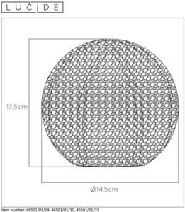 Tischleuchte POLO Silber Metall G9 small 1
