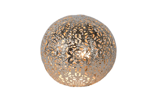 Tischleuchte POLO Silber Metall G9