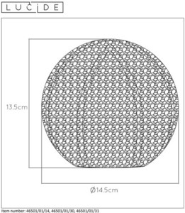 Tischleuchte POLO Weißmetall G9 small 1