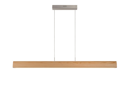 Hängelampe SYTZE klares Holz 125 cm