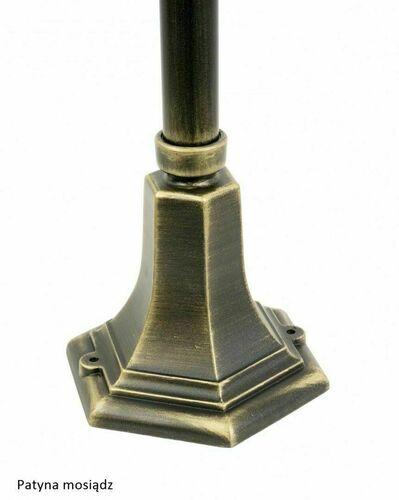 Gartenlampe Retro Classic K 5002/3 (87 cm) Vintage schwarz