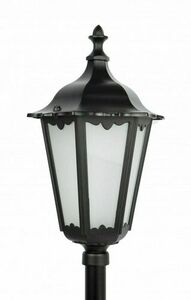 Gartenlampe Retro Classic K 5002/2 (114 cm) Vintage schwarz small 0