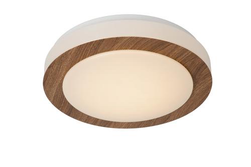 Dunkle Holzöse Decke DIMY LED 28,6 cm