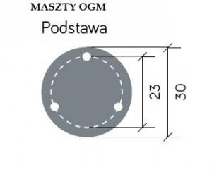Gartenlampe Retro Maxi OGM1 schwarz small 1