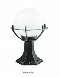 Lampa - Kugel mit Korb stehendem Garten (39cm) - 200 K 4011/1 / KPO small 2