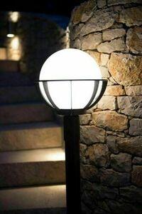 Lampe - ein Korb mit Gartenständerkorb (130 cm) - K 5002/1 / KPO 250 small 5