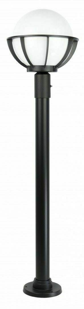 Lampe - ein Korb mit Gartenständerkorb (130 cm) - K 5002/1 / KPO 250