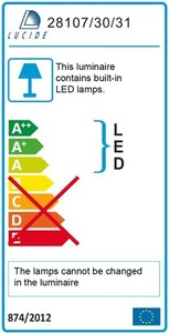 Lucide CERES-LED IP 44 28 112/30/31 small 3