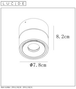 Deckenstrahler Spot MIKO weiße LED small 1