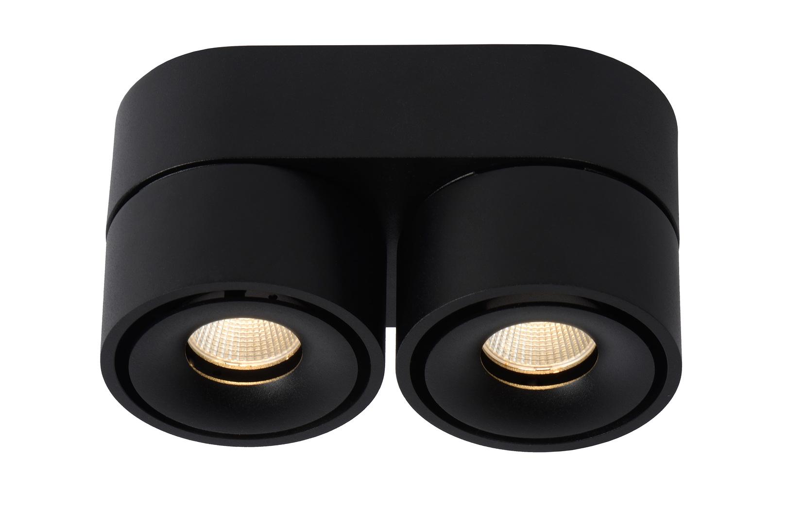 Deckenstrahler Spot MIKO schwarz LED
