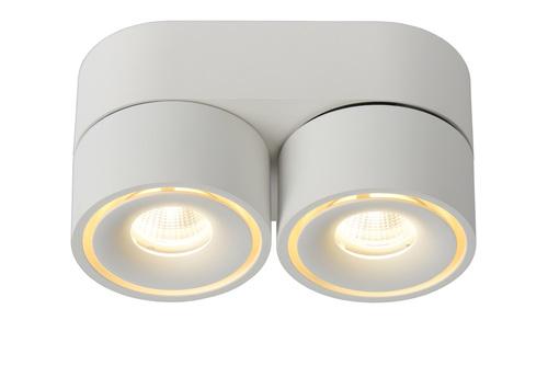 Deckenstrahler Spot MIKO weiß Aluminium LED