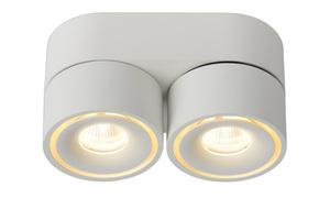 Deckenstrahler Spot MIKO weiß Aluminium LED small 0