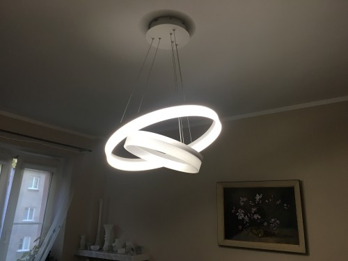 Lampa wiszaca milagro ring led 065 l