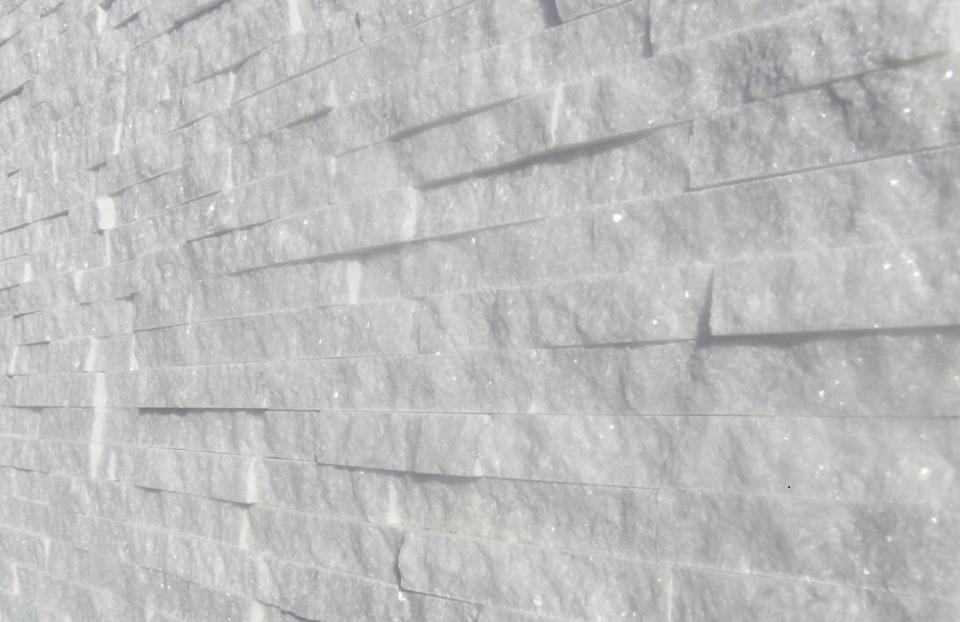 Marmor dünne Streifen 30mm Dekorationsstein