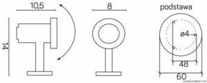 Emy 7062 Lampe kann unter Wasser installiert werden small 1