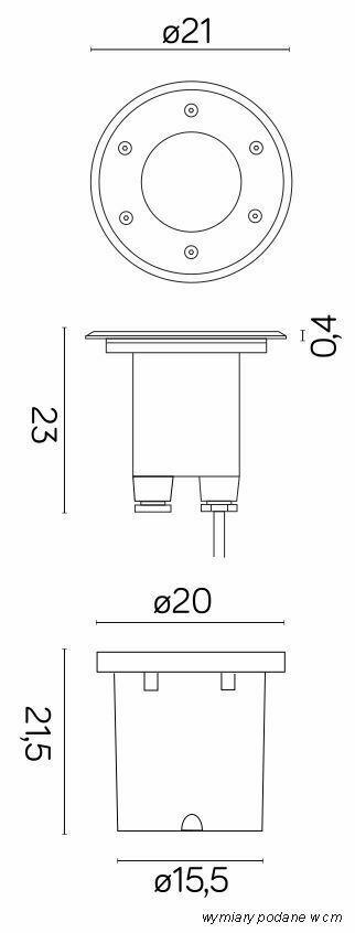 Große Auflauflampe Pabla 4031 1,5T Druck