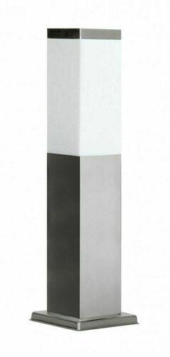 Stehende Gartenlampe SUMA INOX SQUARE 45 cm