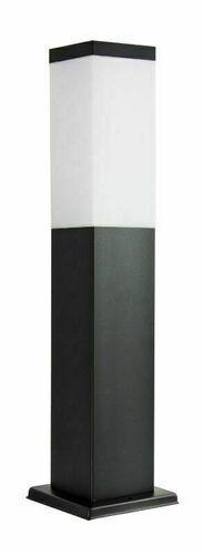 Stehende Gartenlampe SUMA INOX KWADRATOWA SCHWARZ 44 cm