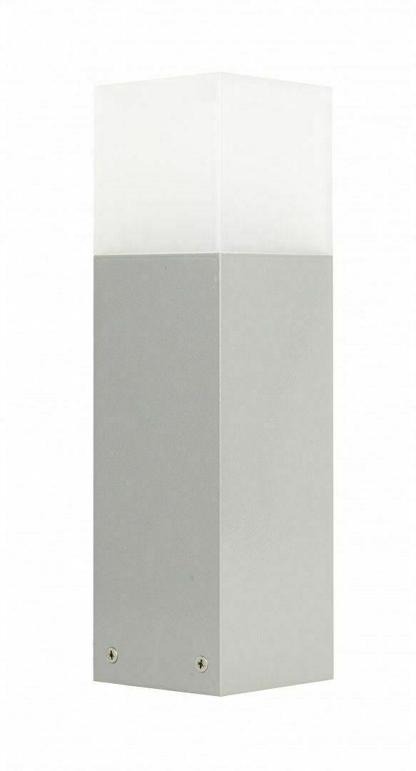 Gartenlampe stehend SUMA CUBE Aluminium 33 cm