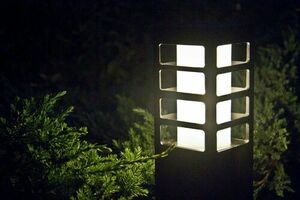 Die Gartenlampe RADO III 1 DG small 0