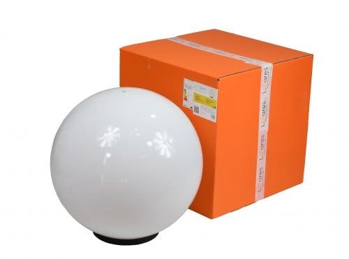 Gartenlampe Luna Ball 50 cm, Gartenkugel, leuchtende Kugel, klassischer Stil, weiß