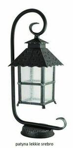Außenstehleuchte an hängendem Glas (53 cm) - CADIZ K 4011/1 / Z small 4