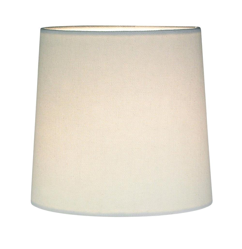 CYLINDER Lampenschirm White Canvas