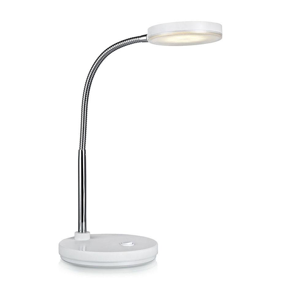 FLEX Tisch 1L LED Schwarz / Chrom