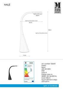 HALE USB Black Table small 0