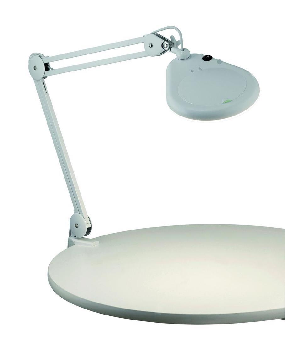 HALLTORP Tisch 1L Weiß Mit Lupe