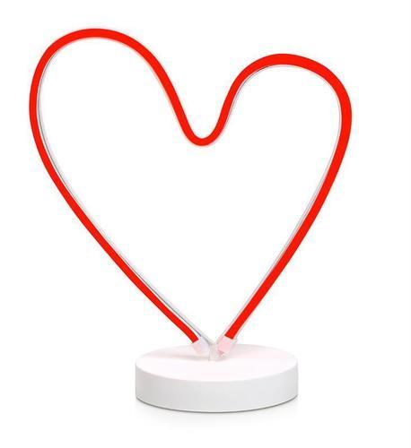 Dekorative Lampe SERDUCHO für Liebhaber