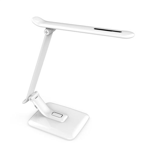 Tischleuchte weiß PIXI 12W + USB