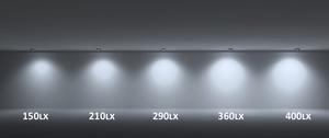 Einbauleuchte Vario Lumen weiß konfigurierbar Neu small 1