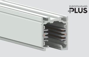 Straßenbahn EUROSTANDARD PLUS Länge 300cm (RAL 9010) STUCCHI weiß small 0