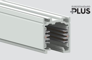 Straßenbahn EUROSTANDARD PLUS Länge 400cm (RAL 9010) weiß small 0