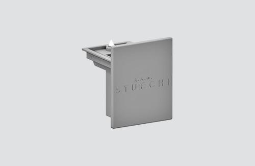 Zaleplepka 9004 / W STUCCHI weiß, schwarz, grau