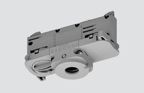 DALI 9009 / W STUCCHI Bindeadapter mit weißem, schwarzem und grauem Phasenwähler