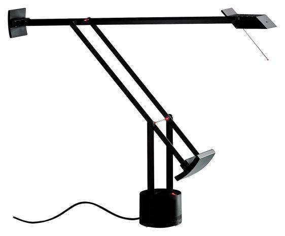 Schreibtischlampe Artemide TIZIO schwarz