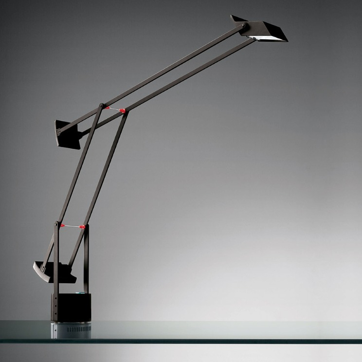 Schreibtischlampe Artemide TIZIO LED schwarz