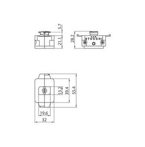 Mechanischer Adapter STUCCHI, weiß, schwarz, grau small 1
