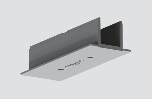 Abdeckschienenverbinder für STUCCHI Einsteckleisten, weiß, grau, schwarz