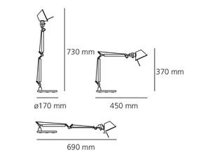 Artemide Tolomeo Micro 0011820A Tischleuchte small 1
