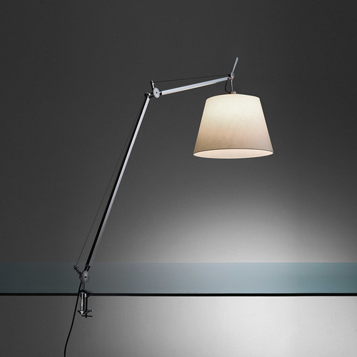 Schreibtischklemmlampe Artemide TOLOMEO Mega 0564010A ø32cm