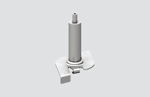 Schnellspannhalter mit STUCCHI-Greifer, Stahl, schwarz, grau, weiß