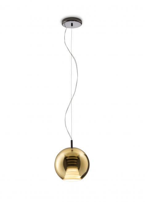 Hängelampe FABBIAN Beluga Royal GOLD D57A5112 (KLEIN - 20cm)